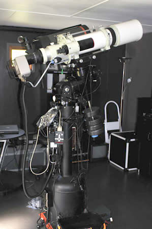 Telescope white
